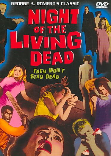 NIGHT OF THE LIVING DEAD BY ROMERO,GEORGE A. (DVD)